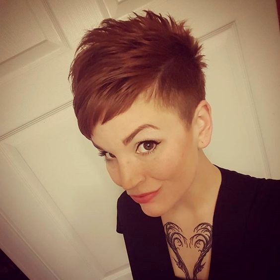 25 best ideas about Red pixie on Pinterest