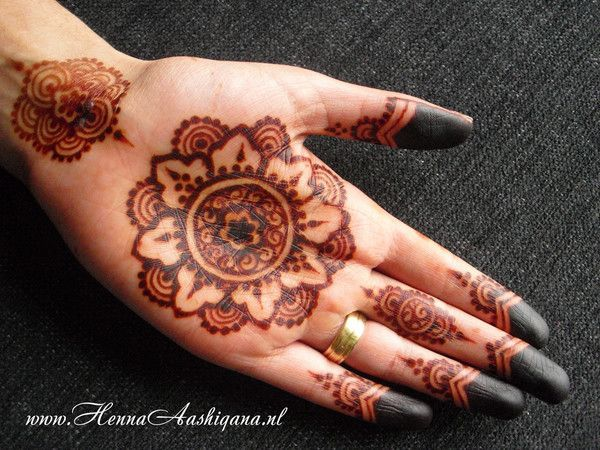 Mehndi Palm Design : Best images about henna inspiration palm designs on