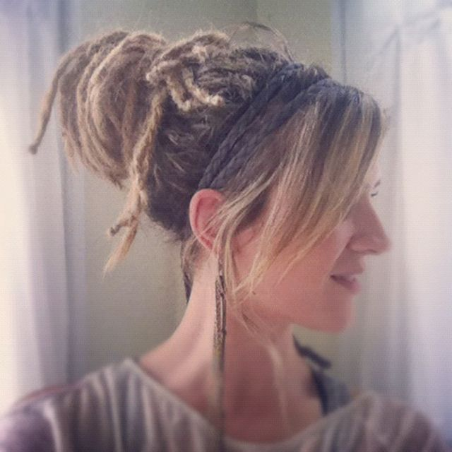DreadsB by & kathleen, via Flickr great blog about starting dreads...  This may be the year.