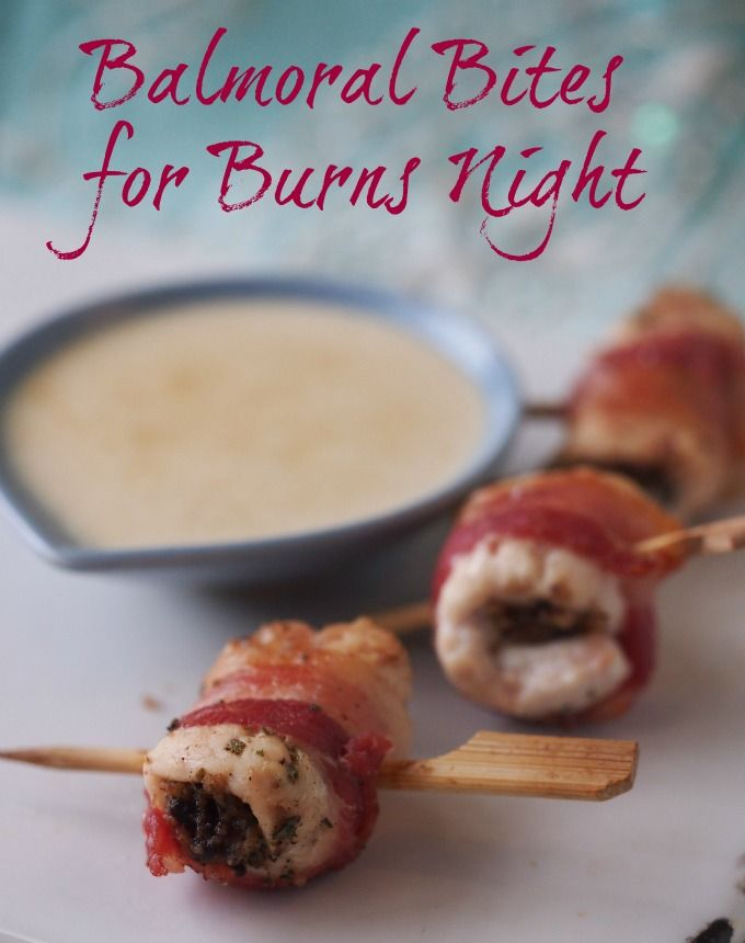 With Burns Night fast approaching (January 25th) I thought I'd share this fun little recipe for Balmoral Bites (chicken and haggis wrapped in bacon) that will make a great wee party nibble if you're having a few friends round on the big night, or any other time you fancy having just a wee nibble of...Read More »