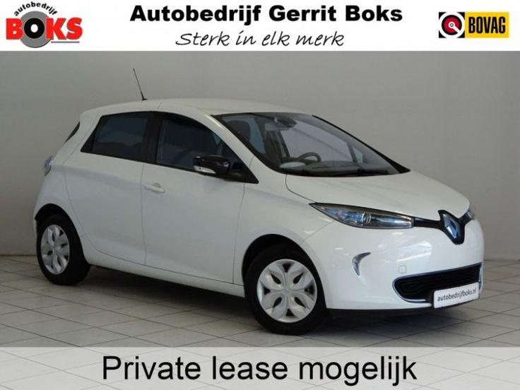 Renault ZOE  Description: Renault ZOE A.S. ZONDAG OPEN!Q210 Life Quickcharge 22 kWh (ex Accu) - 5335648-AWD  Price: 216.81  Meer informatie