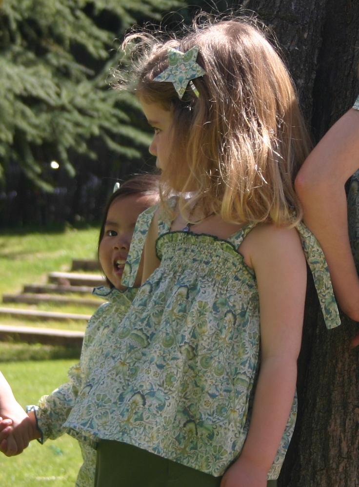 Blusa Provenza Liberty Lodden  Diadema Pajarato Estrella http://pajarato.com
