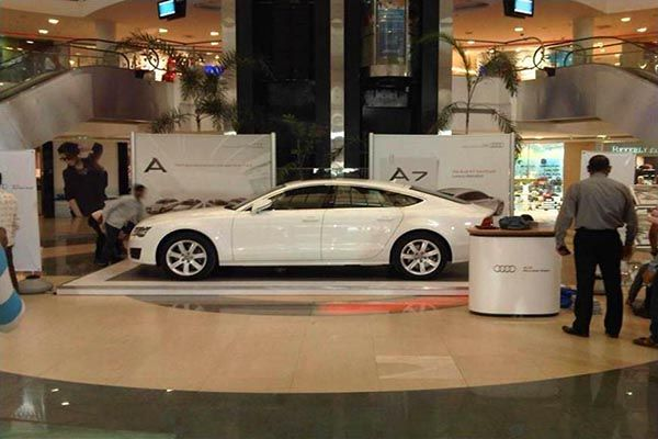 Mall Activation for Audi. Know about our Brand Activation Services http://www.insta-group.com/brand-activation-company-india.asp
