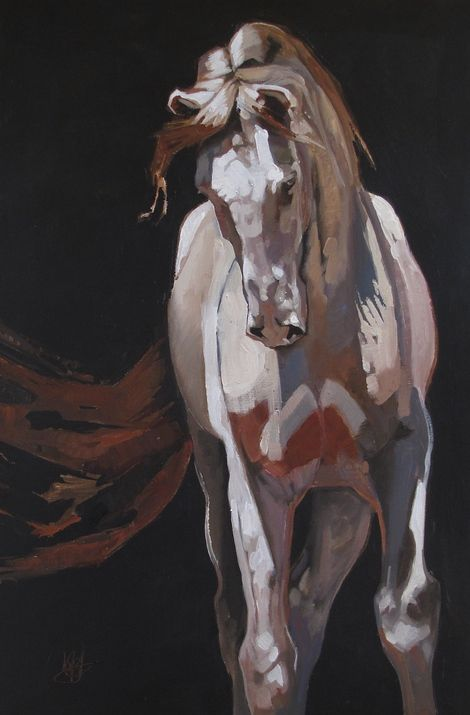 Peggy Judy, Cremello on ArtStack #peggy-judy #art