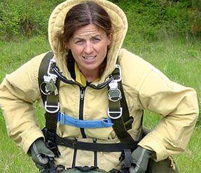Deanne Shulman, first female smoke-jumper