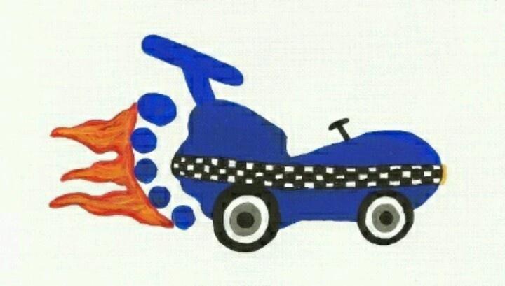 Racecar footprint