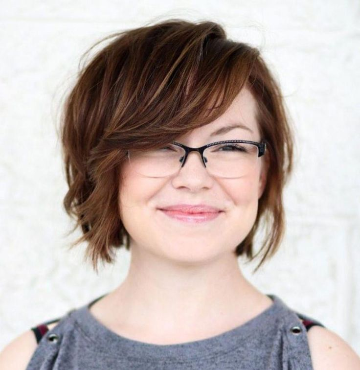 Choppy Haircuts For Square Face: Short Choppy Bob For Square Face #ovalfaceshapehairstyles