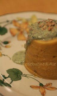 CosebuonediAle: flan di carote con salsa al caprino