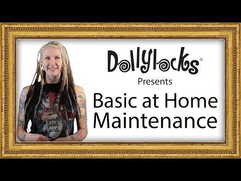 Dollylocks Basic at Home Dreadlock Maintenance Tutorial | Dreadstuff