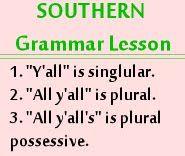 A Southern Grammar Lesson @Carson Clark Cogdill