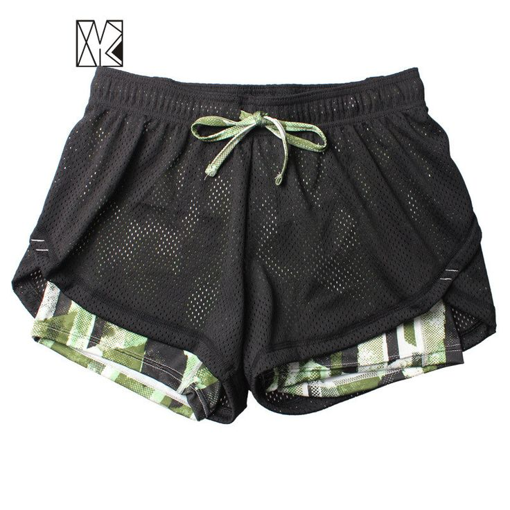 HTLD Gym Double Layer Running Shorts Women Fitness Outdoor Sport Shorts Ladies Shorts Feminina Athletic Jogging Tennis Short #clothing,#shoes,#jewelry,#women,#men,#hats,#watches,#belts,#fashion,#style
