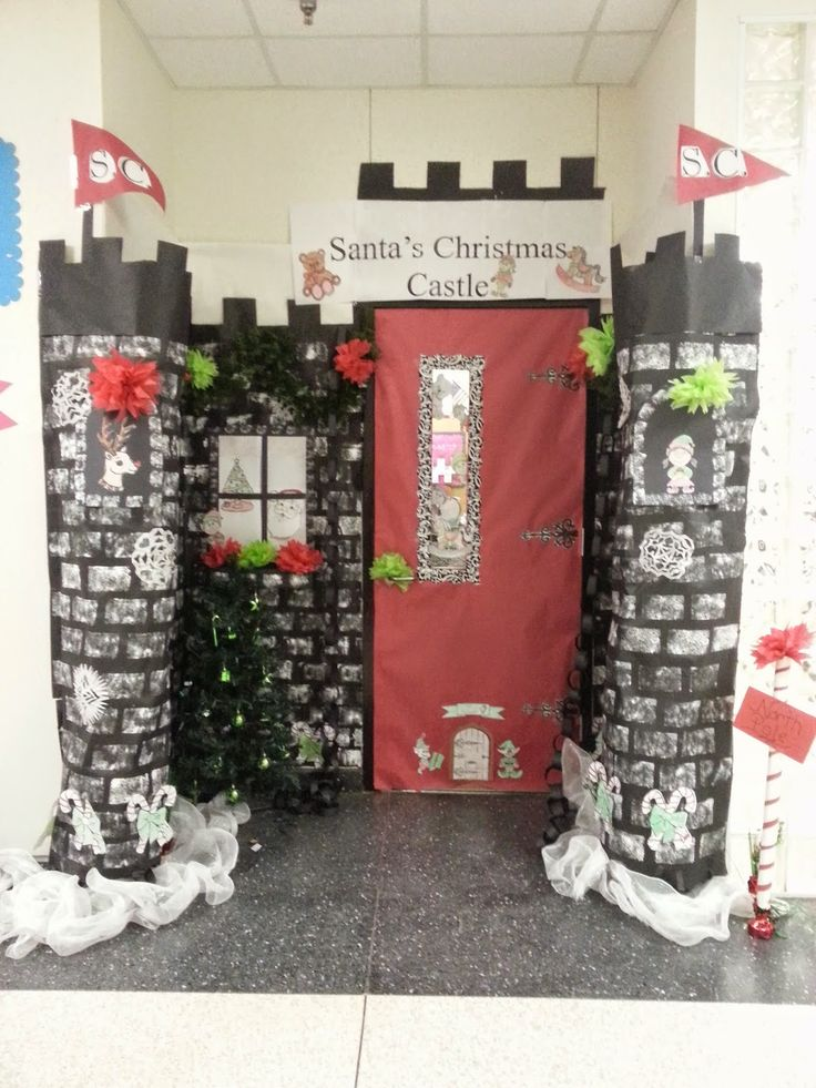 Decorate Our Classroom Door To Represent The Holiday