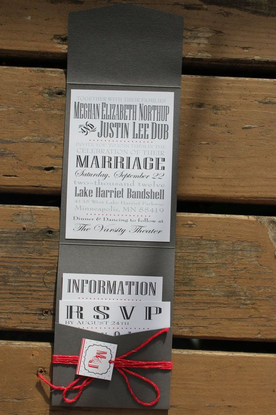 Printable Design - Wedding Invitation