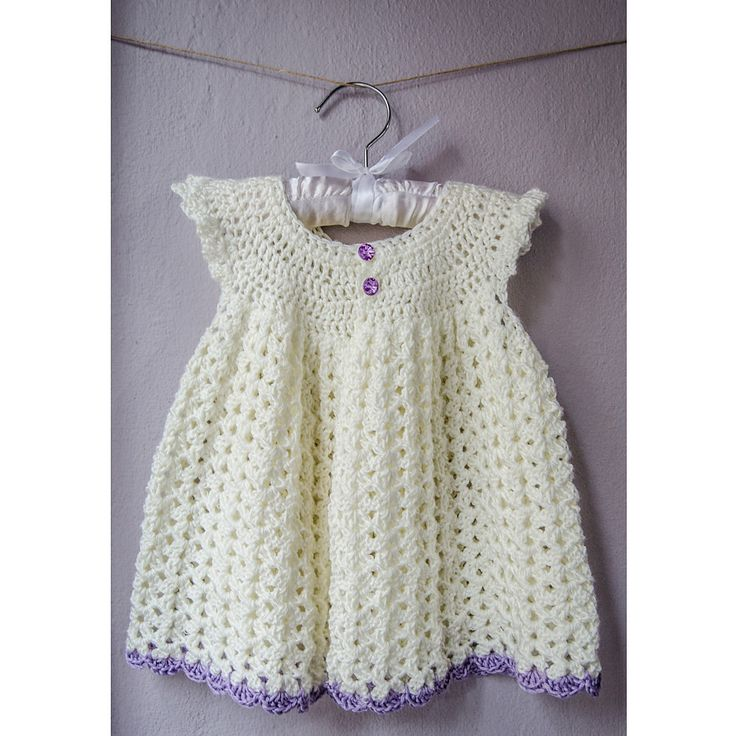 Free Crochet Angel Wing Dress Pattern : Ravelry: Angel Wing Pinafore 2T pattern by Alyssa Boran ...