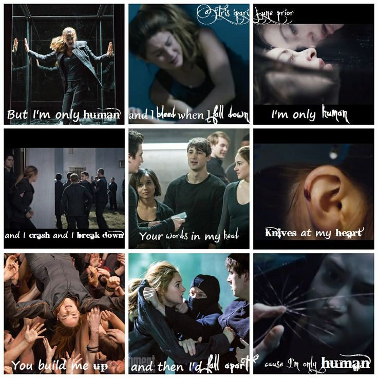 OMG WHENEVER I LISTEN TO THAT STINKING SONG I PICTURE DIVERGENT I AM SO GLAD I AM NOT THE ONLY ONE THANK YOU WHOEVER MADE THIS YOU CAN TELL WHAT THE GOOD DIVERGENT SONGS ARE>>>BLESS YOU!!! I WISH THEY HAD BIGGER CAPS ON THE COMPUTER TO SHOW HOW AMAZINGLY EXCITED I AM RIGHT NOW!!!