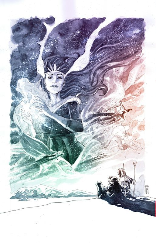 Nelvana of the Northern Lights Art by Francis Manapul