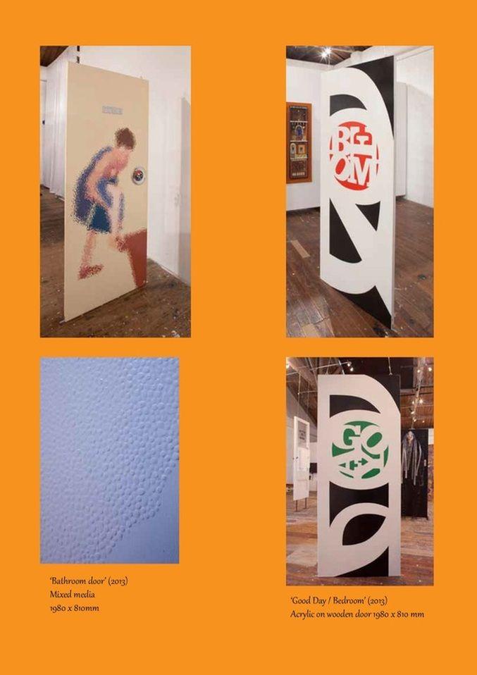 Doors Unhinged group exhibition. Kare Grayson MFA.