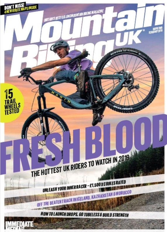 Mountain Biking Uk January 2019 Available Online At South