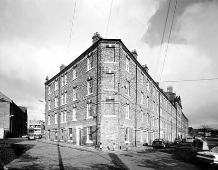 photo 1989..Industrial Dwellings, Garth Heads