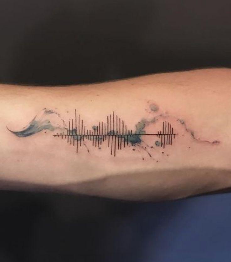 tatuajes soundwave ondas