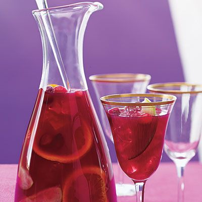 Cranberry Juice Sangria