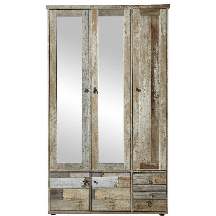 Garderoben Schrank 3 Türen Bonanza Driftwood Jetzt bestellen unter: https://moebel.ladendirekt.de/wohnzimmer/schraenke/weitere-schraenke/?uid=3c2f7d24-6c95-550e-ae01-ce5ca6d3de16&utm_source=pinterest&utm_medium=pin&utm_campaign=boards #möbel #schraenke #garderobe #günstig #kaufen #online #wohnzimmer #diele #weitereschraenke #bonanza #innostyle