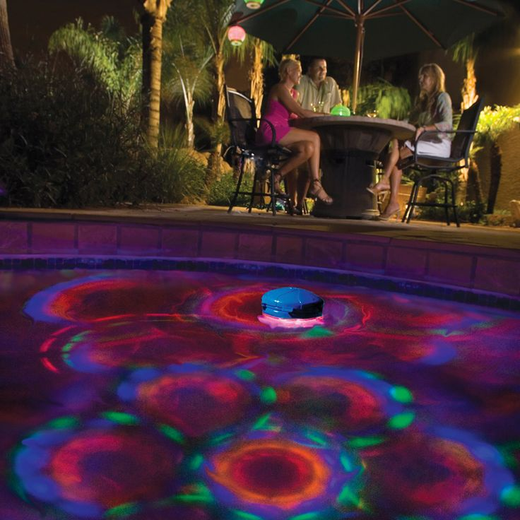 1000 ideas about swimming pool lights on pinterest for Dekorasi pool party
