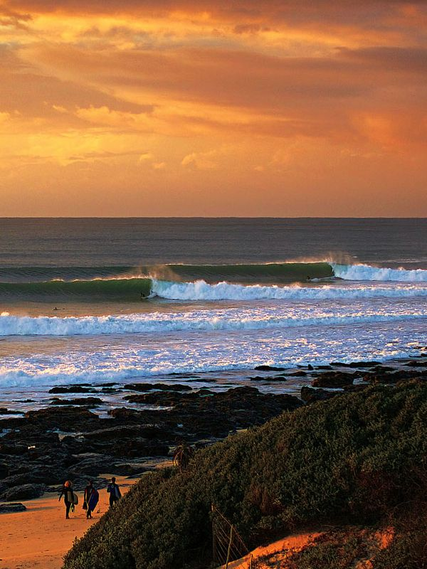 Jeffreys Bay, South Africa. Photo: Ted Grambeau