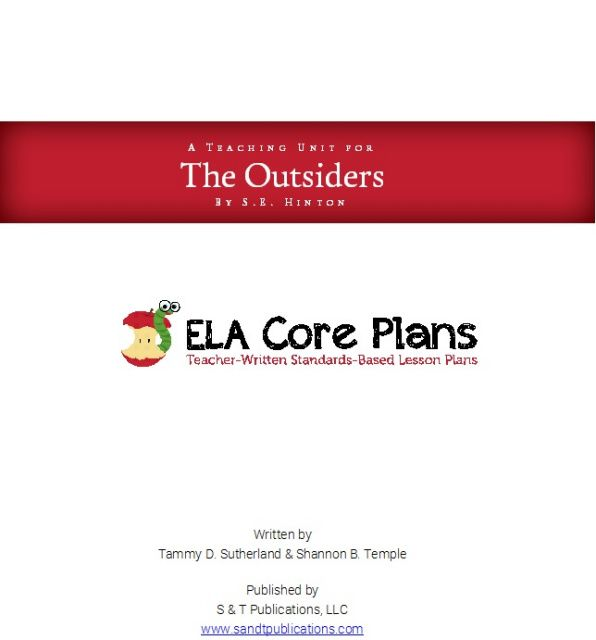 an exam based on the reading the book the outsiders Outsiders study guide answer gradesaver  nce exam: study guide  and widely in general reading for children and young people reprint of the.