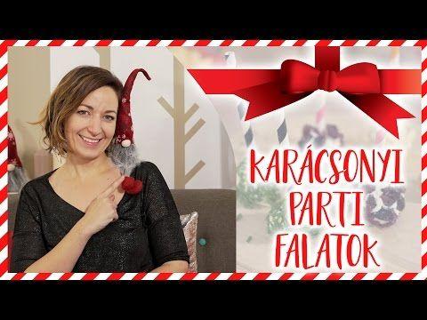 Szuper egyszerű karácsonyi party-falatok!   CSORBA ANITA   Gasztro csatorna - YouTube