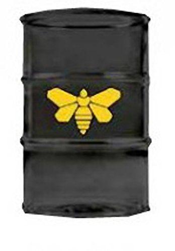 JUST FUNKY AMC Breaking Bad Moth Barrel Drinking Pint Glass Black @ niftywarehouse.com #NiftyWarehouse #BreakingBad #AMC #Show #TV #Shows #Gifts #Merchandise #WalterWhite