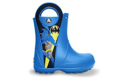 Kids' Batman™ Rain Boot | Kids' Rain Boots | Crocs Official Site