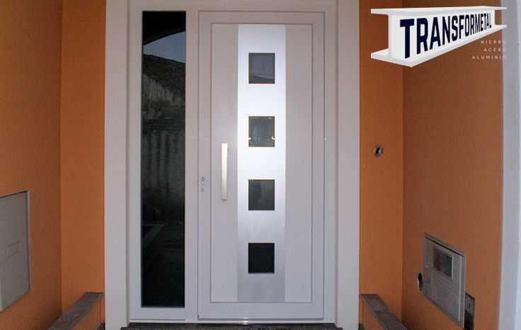 Las 25 mejores ideas sobre puertas aluminio en pinterest y for Puertas pintadas originales