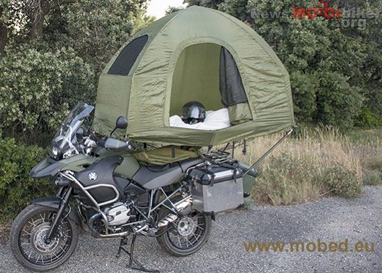 Motorcycle Camping Tent Mobed What Pinterest