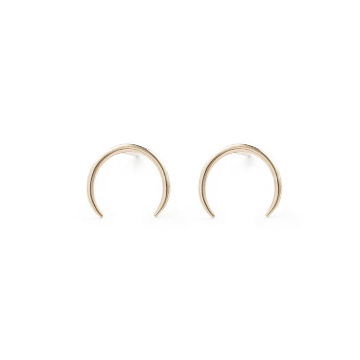 Inverted Studs - 14k Gold / Free Series