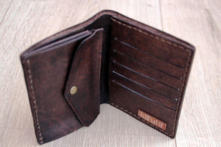 Leather handmade wallet - 1 day Kaula Workshop