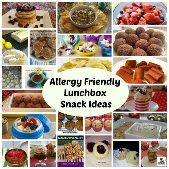 Allergy Friendly Lunchbox Snack Ideas   www.allergysave.com