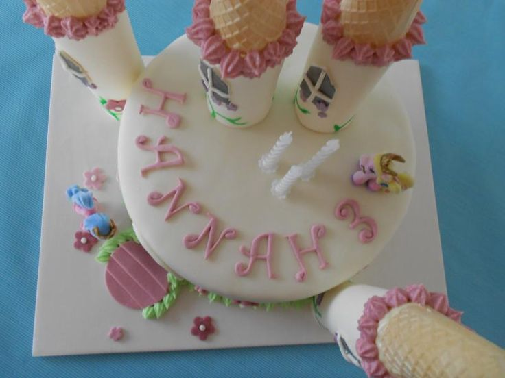 Filly Schloss Torte 3 Geburtstag Maus 3795609784