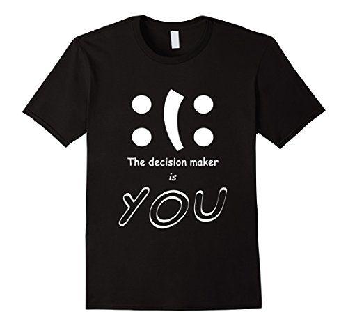 Men's Happy Sad Mood Emoji Smiley Funny Decision T-Shirt ... https://www.amazon.com/dp/B01LWUC31U/ref=cm_sw_r_pi_dp_x_y576xbXKE3N8K