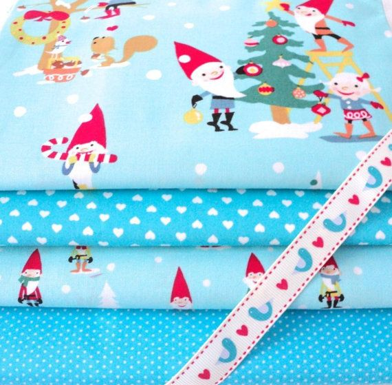 Hey, I found this really awesome Etsy listing at http://www.etsy.com/listing/164802892/michael-miller-christmas-gnome-4-piece