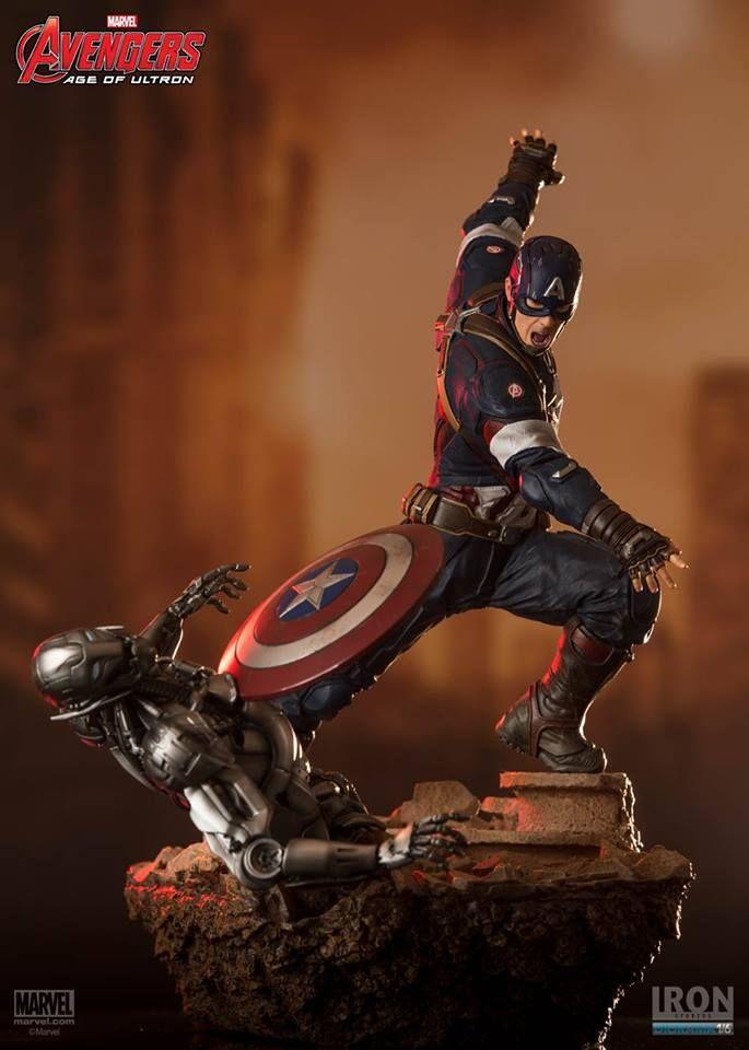 Primeiras imagens oficiais do diorama da Era de Ultron pela Iron Studios ~ Universo Marvel 616