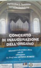concerto inaugurazione organo franzetti castellar guidobono alessandria