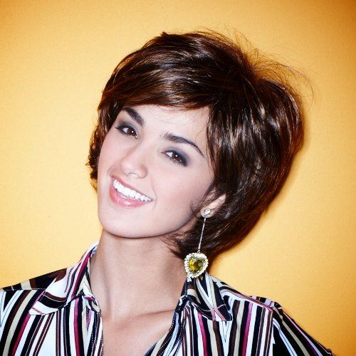 Short Frosted Hair Styles Short Hairstyle 2013