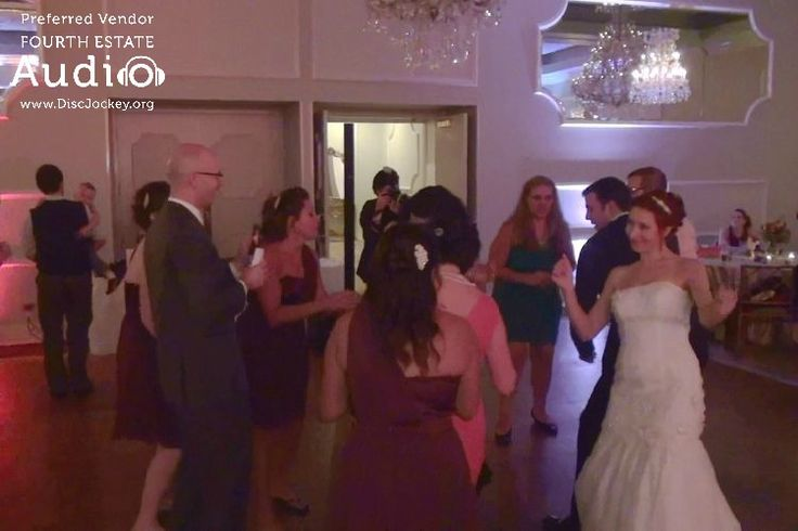 Caitlin rocks out with her guests. #chicagoweddingdj #chicagodj