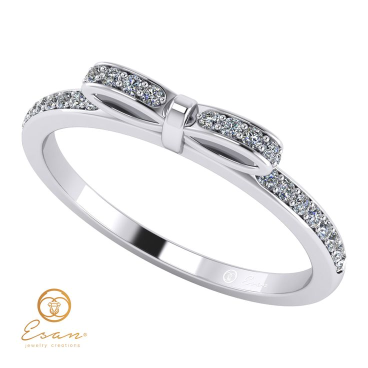 Inel de logodna din aur cu diamante ES88