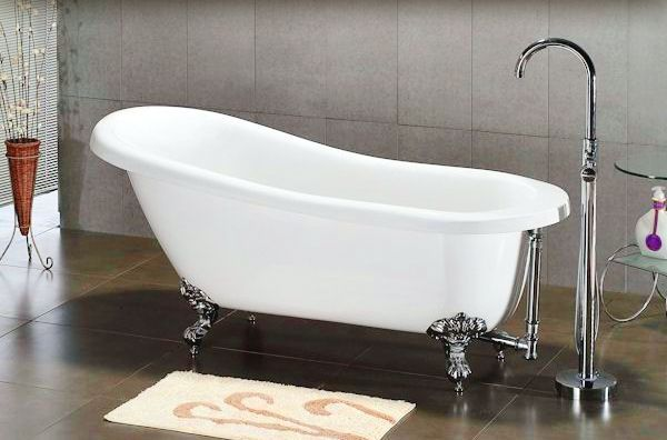 The super unique styling of the Claw Foot Bath Tub adds a lot of elegance and style to your bathroom. Description from hometone.com. I searched…