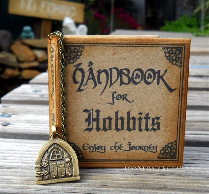 Hobbit Handbook with Charmed Bookmark | Lynn's Designer Creations | madeit.com.au