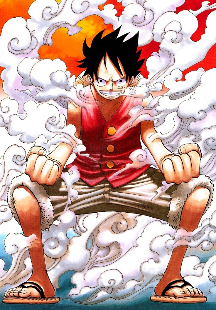 Luffy Second Gear