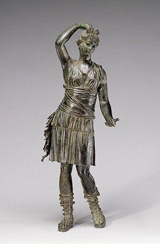 Statuette of Diana (The J. Paul Getty Museum, Villa Collection, Malibu, California)