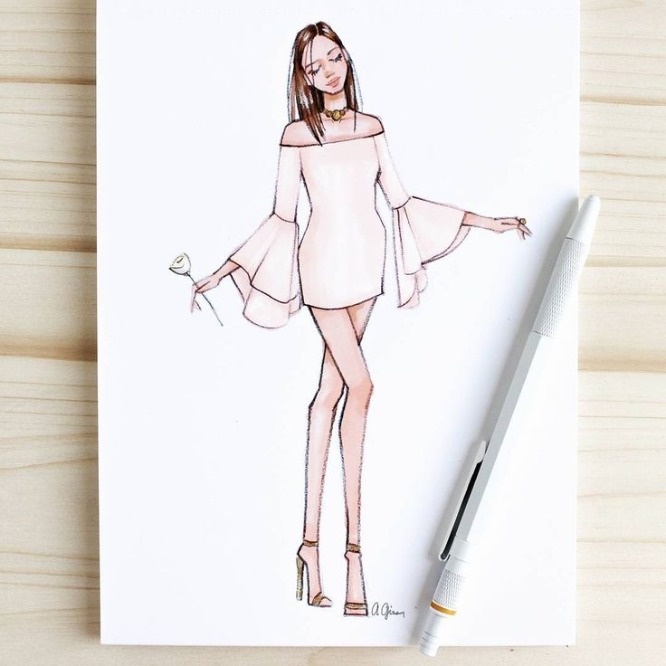Style Of Brush By Gizem Kazancıgil #fashionillustration